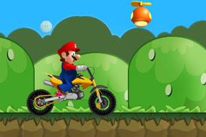 马里奥趣味驾驶小游戏