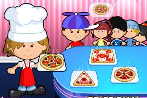 比萨小厨师小游戏