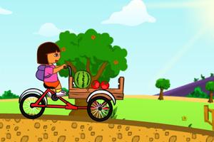 朵拉送水果小游戏