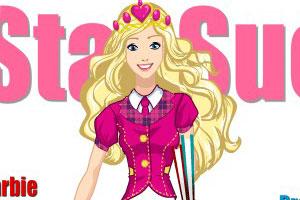 芭比娃娃之长发公主小游戏
