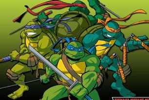 忍者神龟双龙出海小游戏