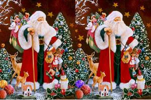 圣诞老头找茬小游戏