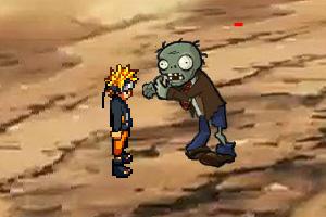 鸣人VS僵尸小游戏