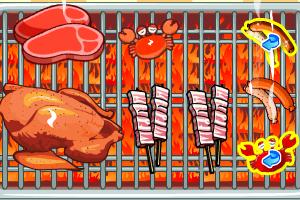 朵拉的烧烤店小游戏