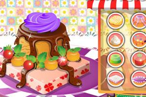 诱人蛋糕设计小游戏