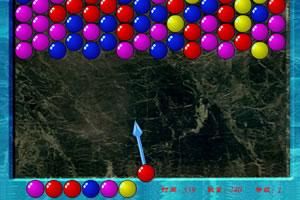 水晶泡泡龙小游戏