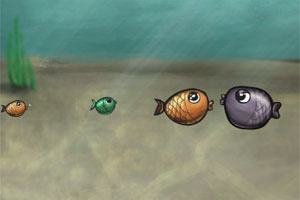 突眼小鱼小游戏