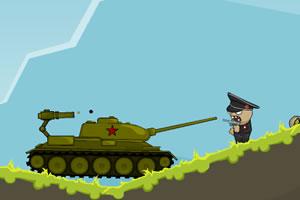 坦克与僵尸部队无敌版小游戏
