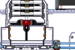 机器人实验室冒险小游戏