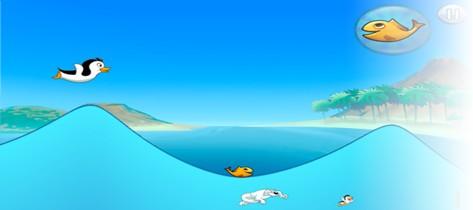 可爱企鹅的手机游戏